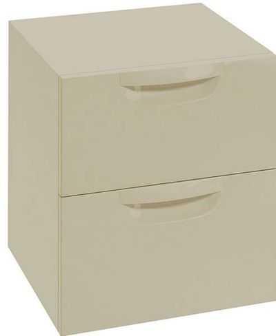 podwójna szafka łazienkowa