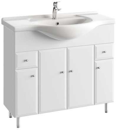 duża szafka z umywalką
