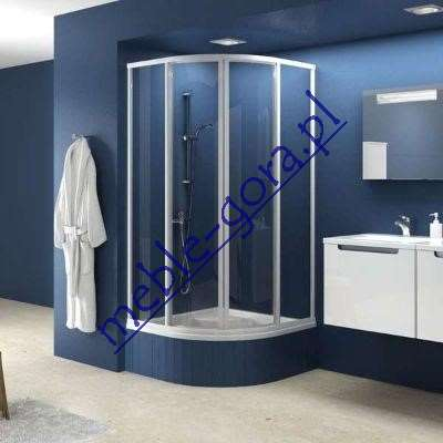 Koło kabina prysznicowa
